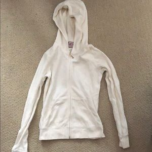 Cream/white juicy couture jacket